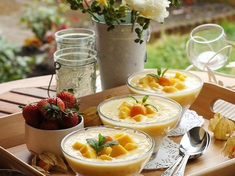 芒果椰汁西米露《港式甜品》