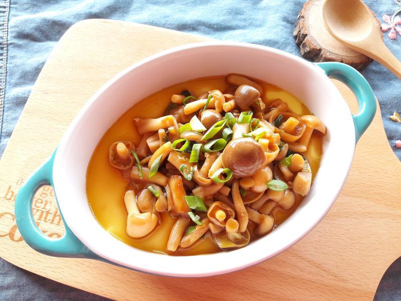 醬燒菇菇蒸蛋【好菇道好食光】