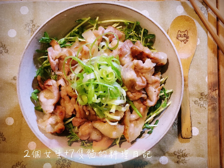 【5分鐘上菜】豚肉味噌燒丼飯