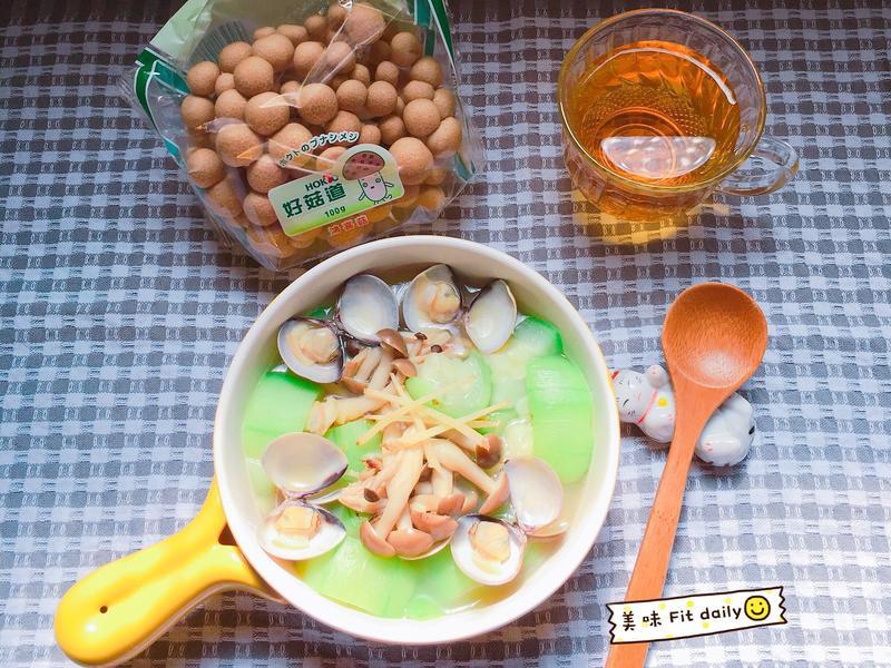 菇菇絲瓜蛤蜊【好菇道好食光】