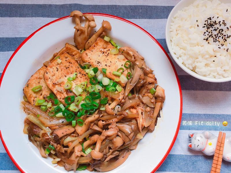 菇菇燒豆腐【好菇道好食光】