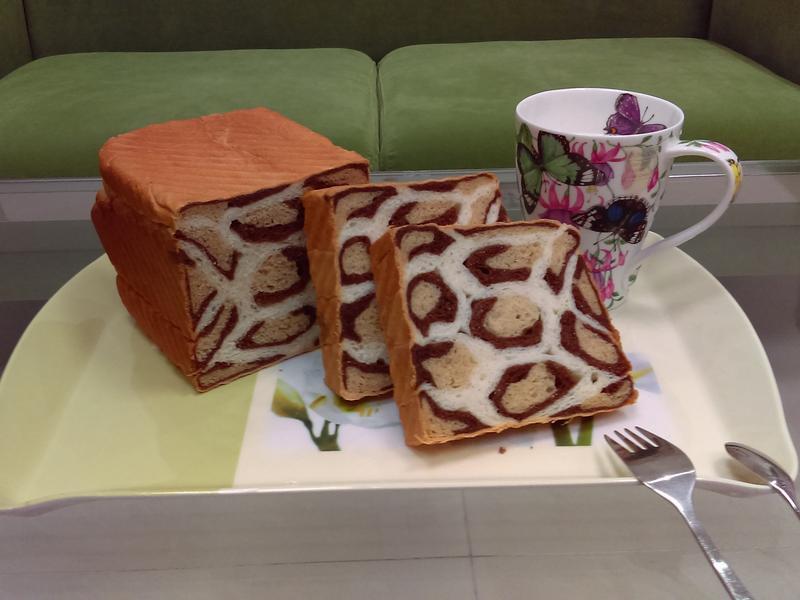 超蝦趴豹紋麵包!!