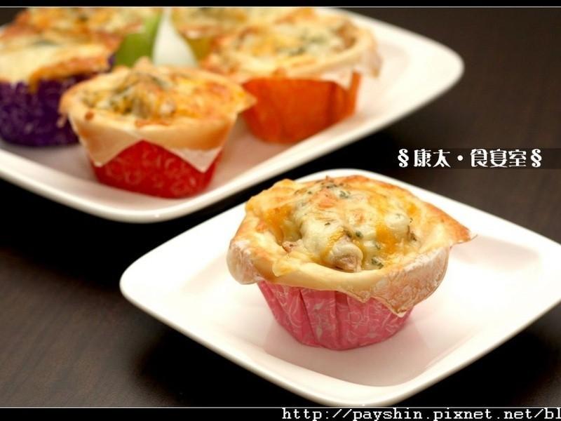 【十分輕鬆料理DIY】野菇燻雞鹹塔