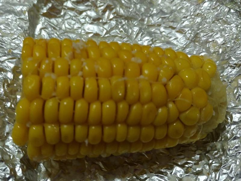 🌽蒜味奶油甜玉米🌽