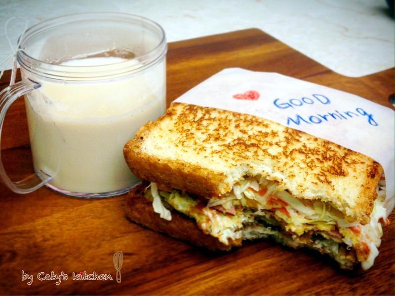韓式高麗菜絲三明治