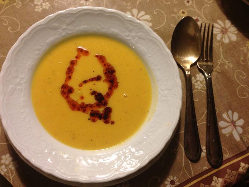 馬鈴薯紅蘿蔔濃湯