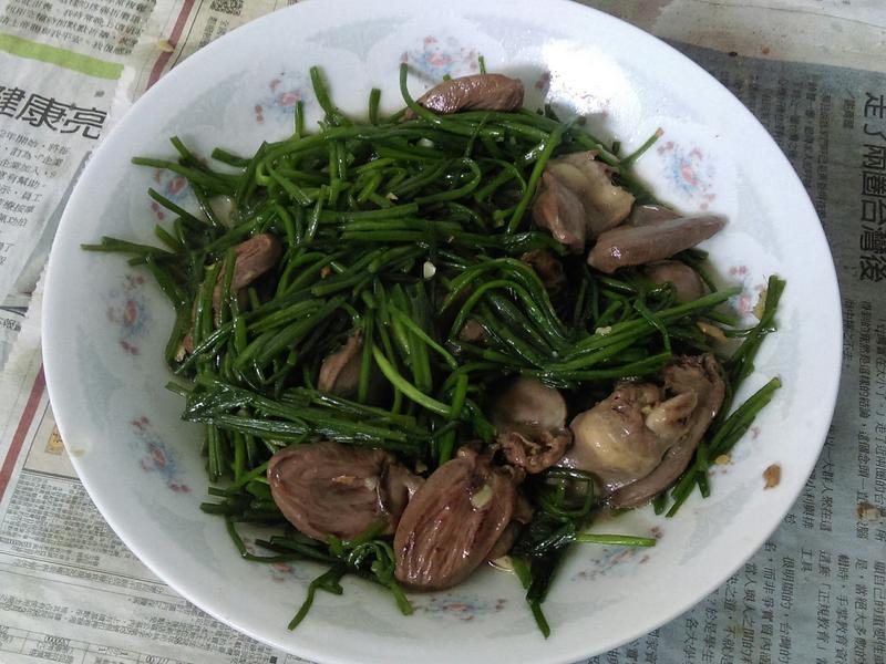¥ 水蓮炒雞心 ¥
