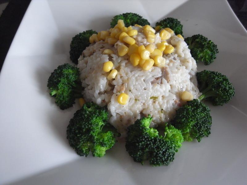 十分輕鬆料理DIY~桂冠輕鬆生活野菇燻雞焗飯~像大樹一樣高(2)