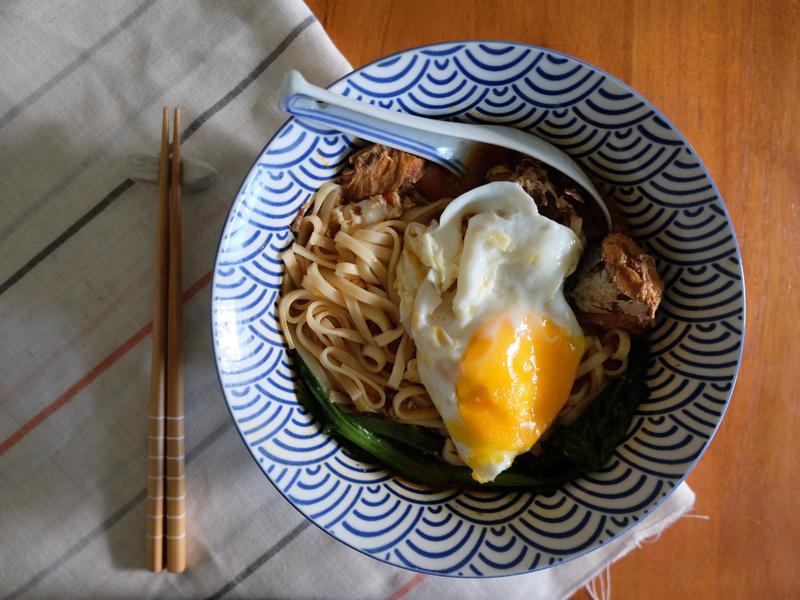 阿嬤の味#3 - 透中道的鯖魚罐頭麵