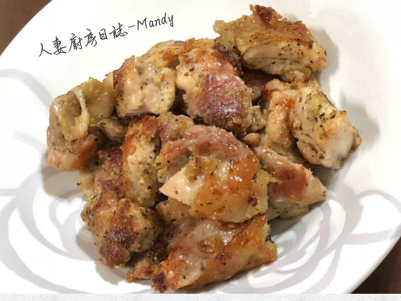 香煎蒙特羅雞腿肉