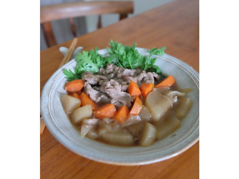 轉涼的節奏 - 蘿蔔豬肉煮