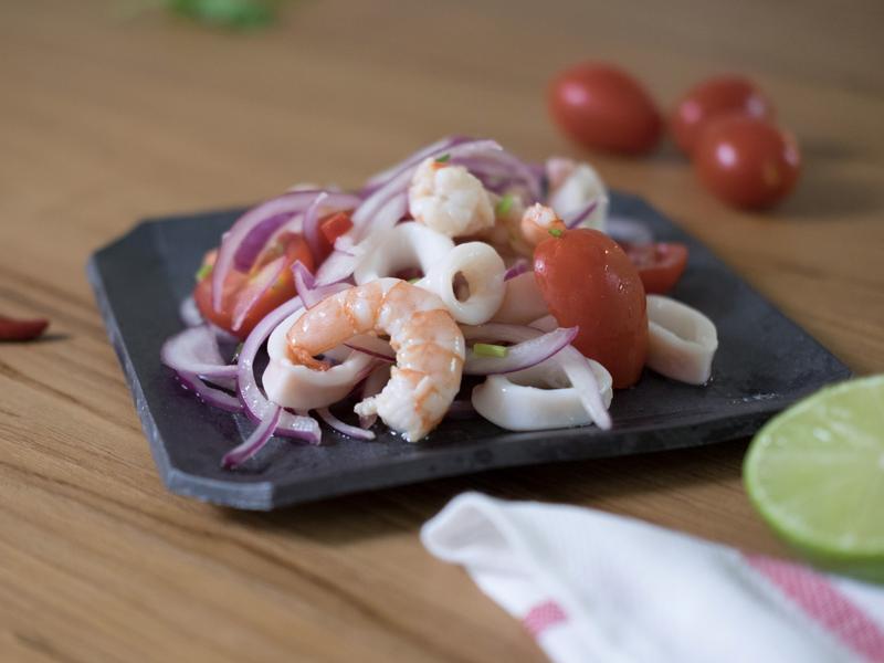 無油煙料理-泰式涼拌海鮮