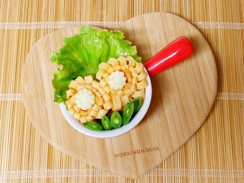 玉米筍蛋皮花