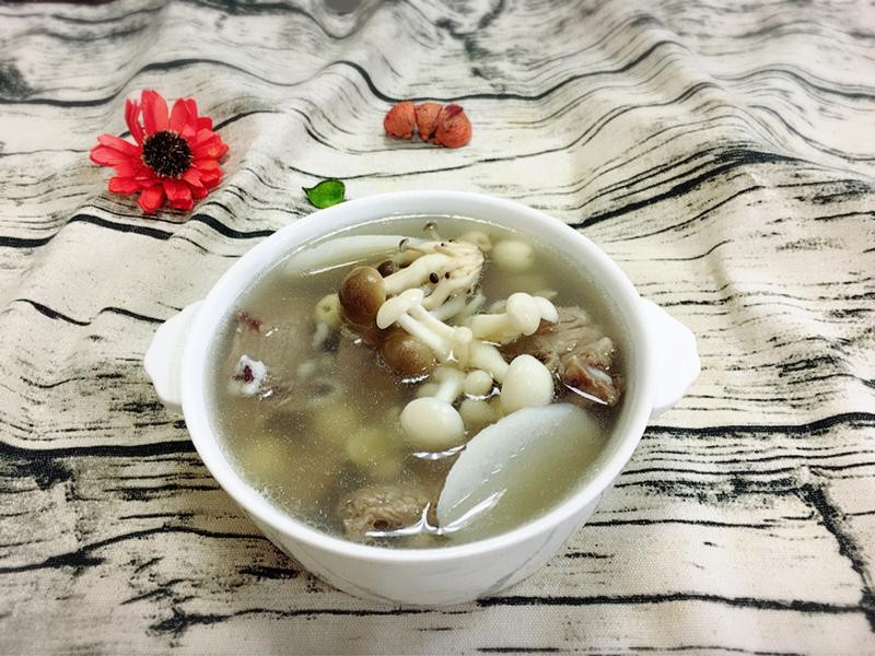 四神排骨菇菇湯 【好菇道好食光】