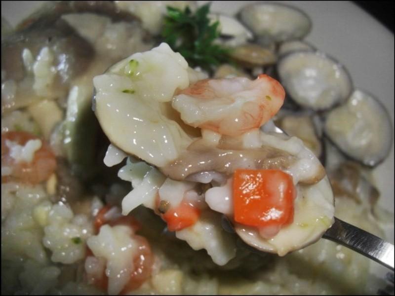 ♥十分輕鬆料理DIY♥起司香氣鮮味蛤蠣飯