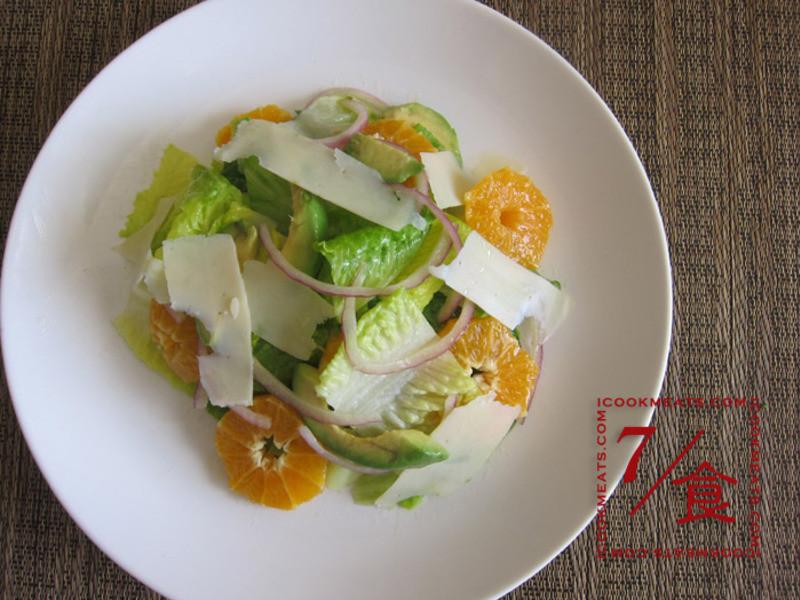 【7/食】柑橘沙拉