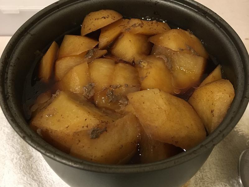 馬鈴薯燉牛肉—外宿非常懶人版-電鍋搞定