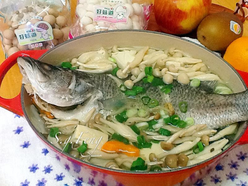 菇菇鱸魚湯【好菇道好食光】