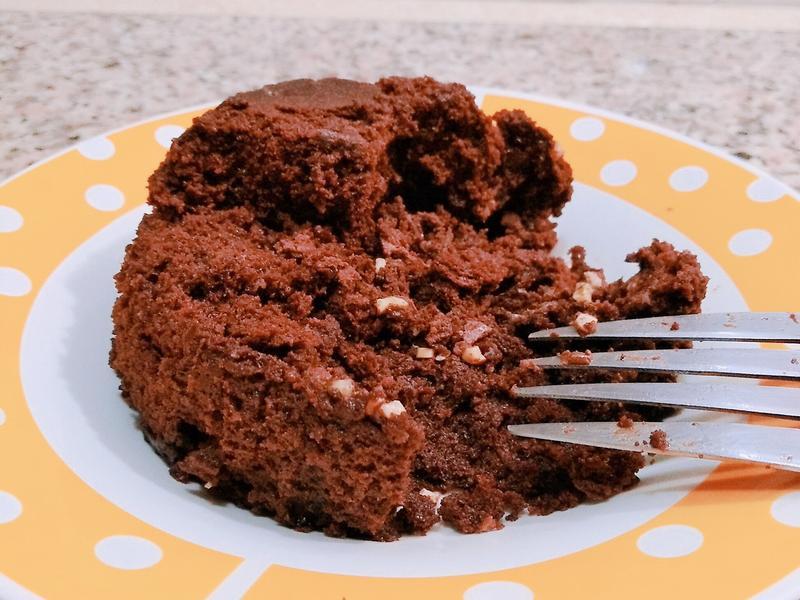 轉轉轉~~3分鐘巧克力蛋糕