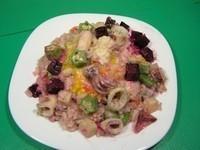 【十分輕鬆料理DIY】桂冠起司海鮮飯創意料理
