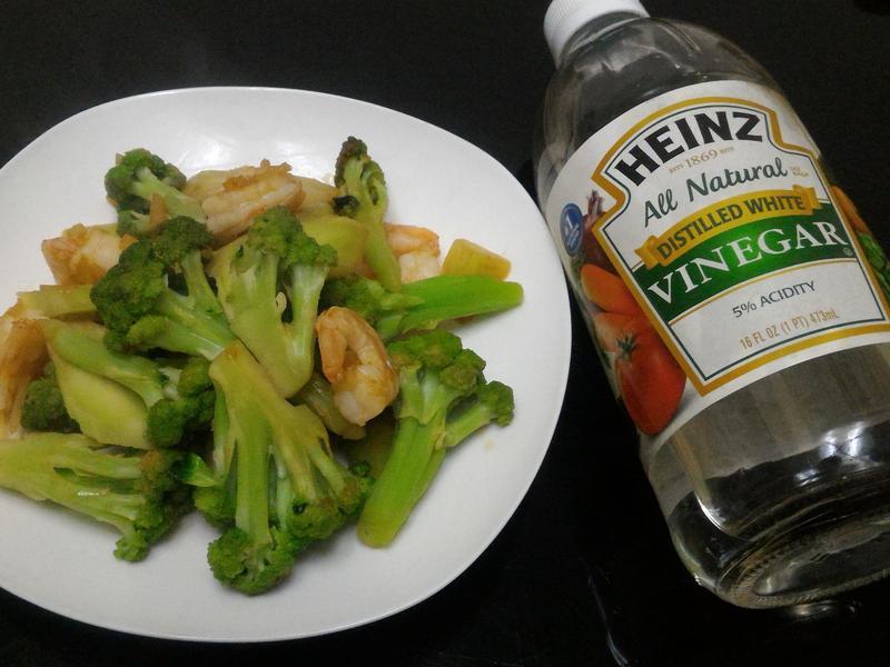 BBQ醬炒花椰菜蝦仁