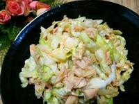 涼拌鮪魚高麗菜絲