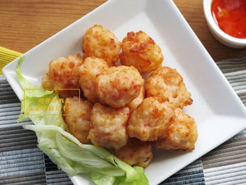 [超Q彈炸蝦丸]親子料理 全蝦肉超美味
