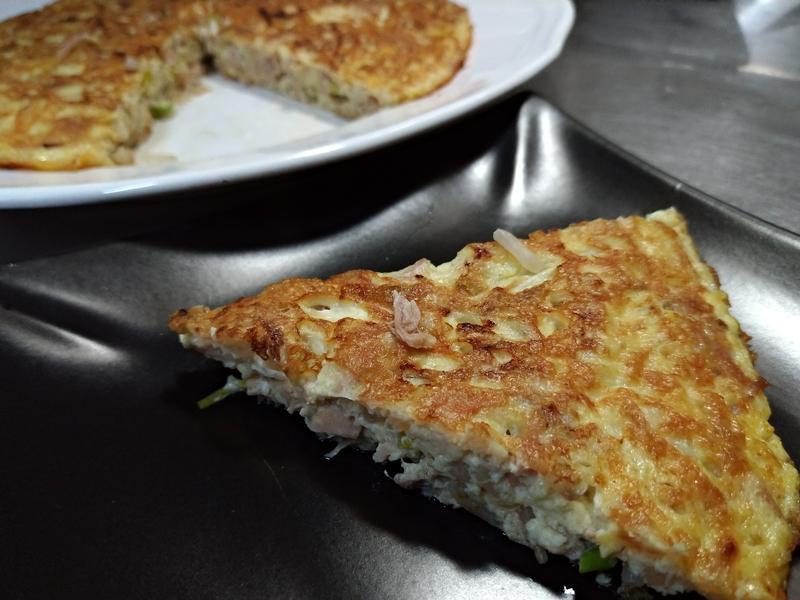 芽菜鮪魚烘蛋