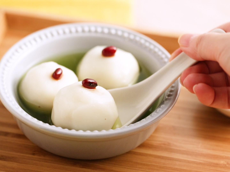 抹茶湯圓(作法和煮法小訣竅)
