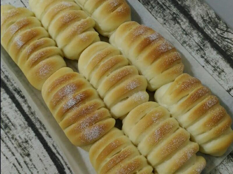蔓越莓乳酪手撕麵包(中種)