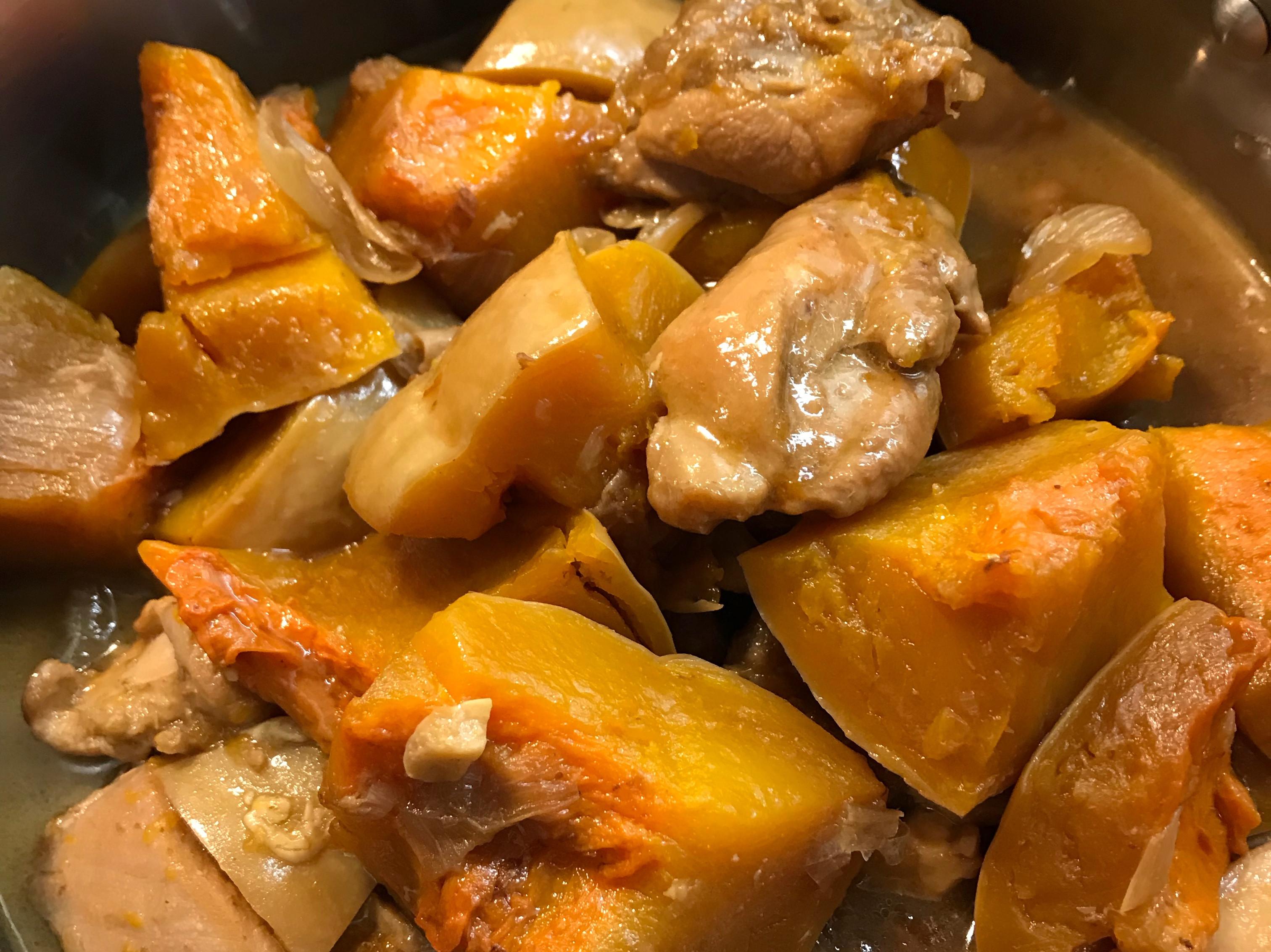 南瓜🎃燒雞 萬聖節🎃搭順風車😄😄
