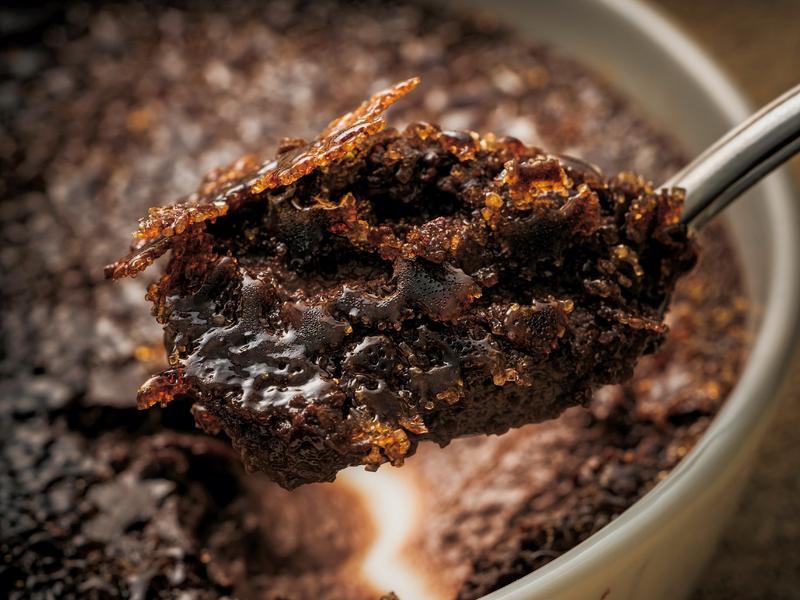 東販小食堂:巧克力焦糖布丁