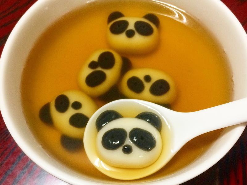 【冬至】熊貓湯圓