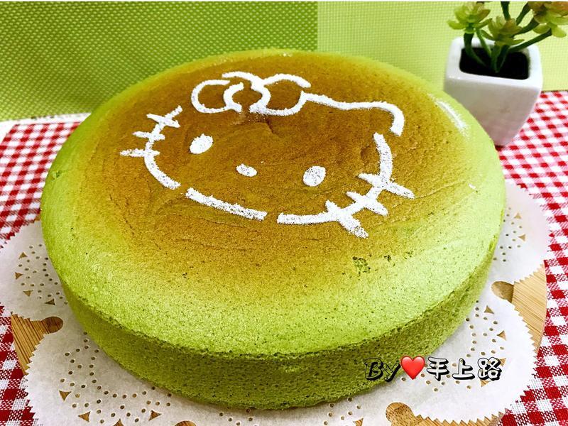 日式抹茶輕乳酪蛋糕(8吋、無奶油)