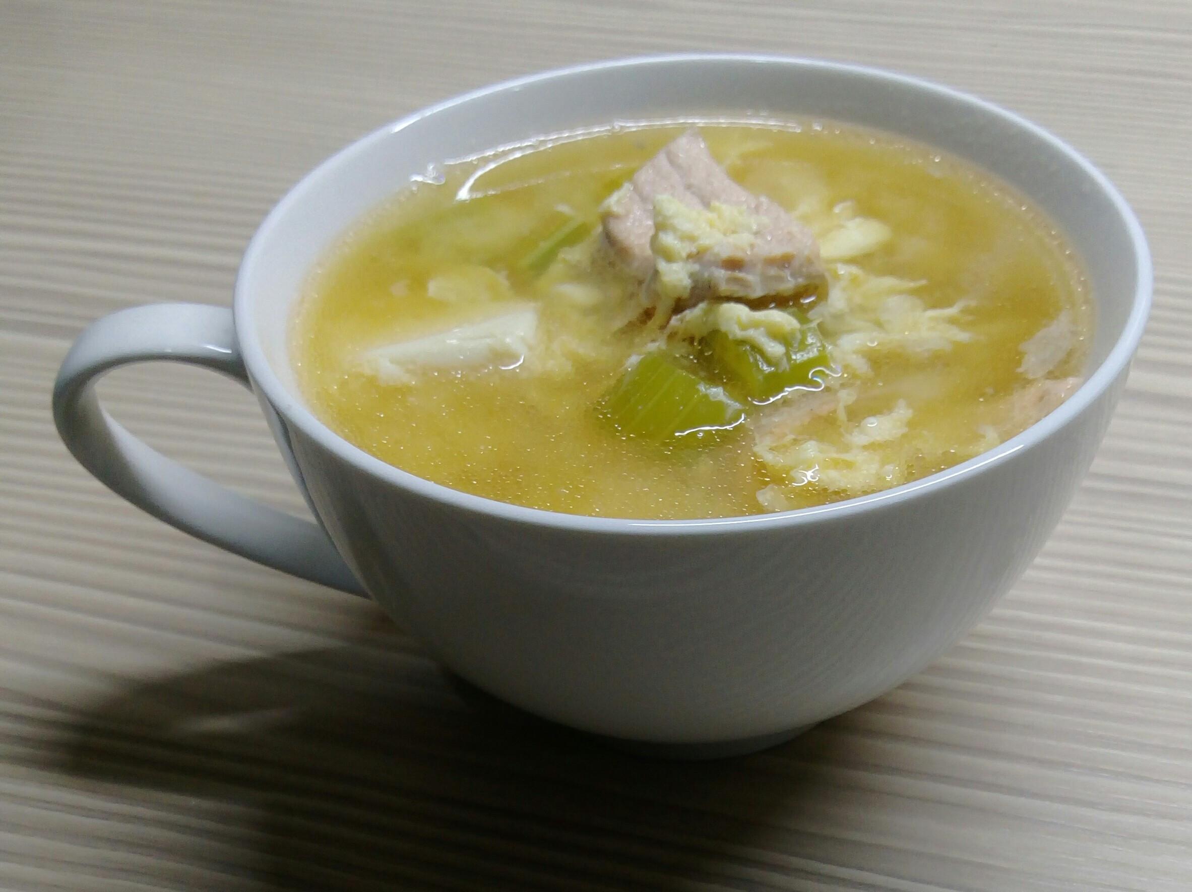 67元鮭魚豆腐味噌湯