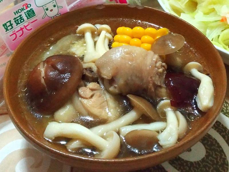 牛蒡鮮菇雞湯【好菇道好食光】