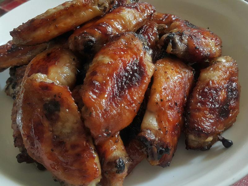 蒜香蜂蜜烤雞翅