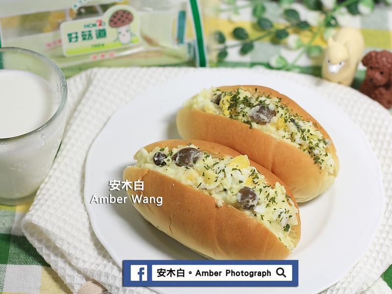 鴻喜菇馬鈴薯泥麵包【好菇道好食光】