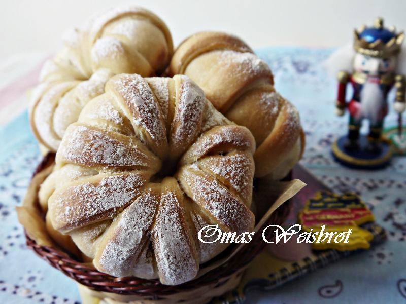 德國老奶奶白麵包