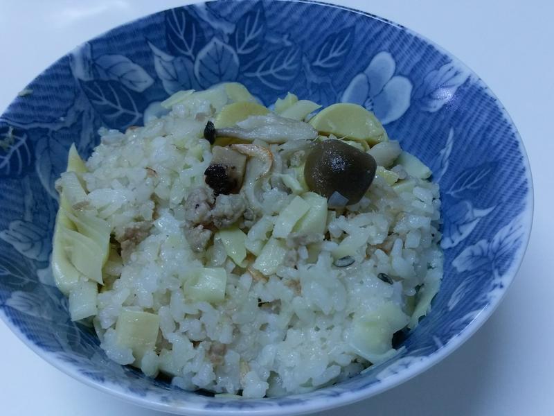 電鍋料理-筍絲飯