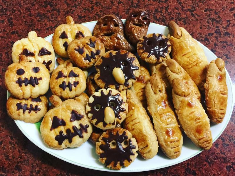 萬聖節餅乾