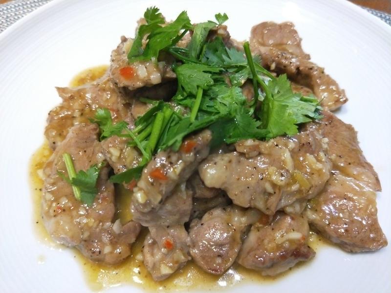 台式煎羊肉梅花里肌肉片