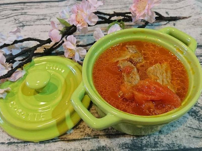 蕃茄牛肉湯(一鍋到底)絕對好吃
