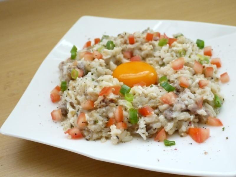 【十分輕鬆料理DIY】月見野菇燻雞焗飯