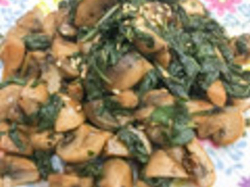 四季皆宜下酒菜‧塔香蘑菇