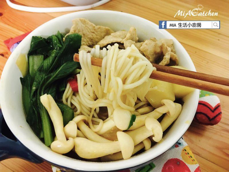 日式咖喱菇菇鍋煮