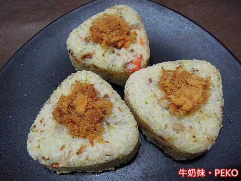 起司海鮮御飯糰