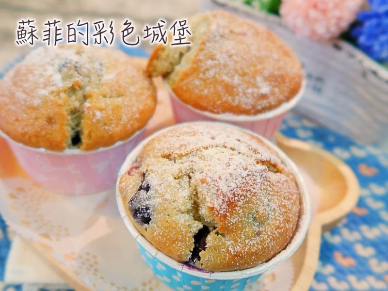 『莓果優格馬芬蛋糕 』美味的早餐、下午茶