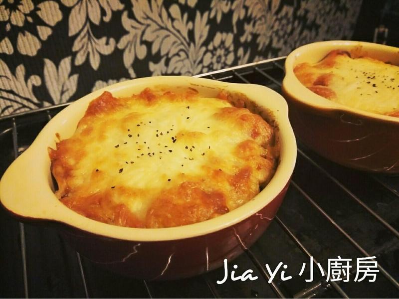 德式茄汁香腸焗烤飯(簡易版)