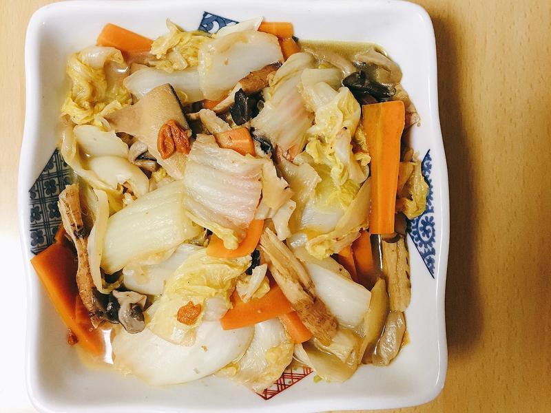 微中藥滷白菜